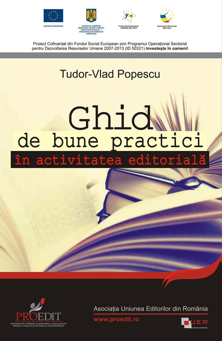 eBook - Ghid de bune practici in activitatea editoriala, Vlad T. Popescu - elefant.ro