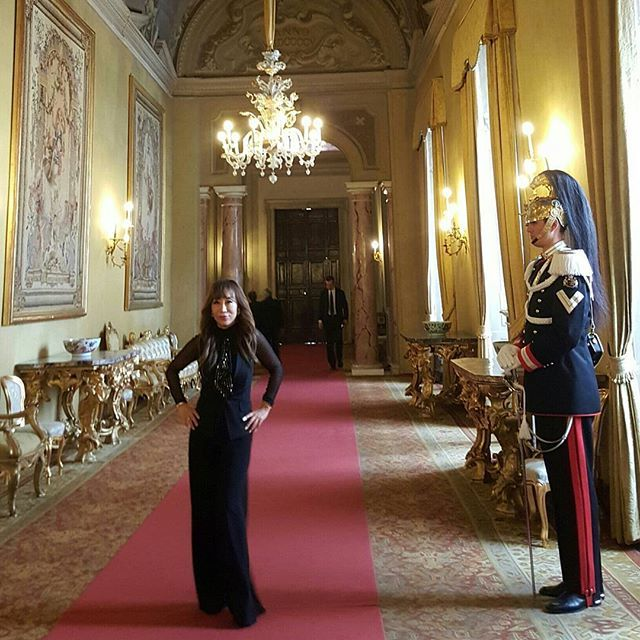 Honoured to be invited  by the President of Italy Mr. Mattarella at the Quirinale Palace #Rome  this morning. 이탈리아 대통령관저 퀴리날래에서