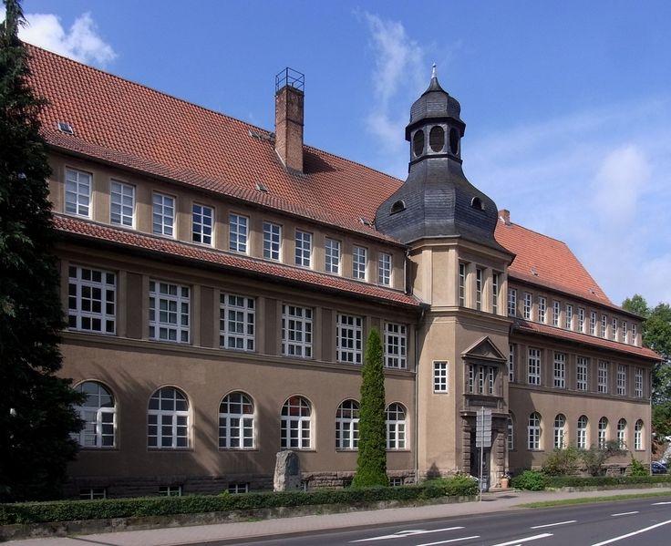Ernst-Abbe-Gymnasium, Eisenach, Thuringia, Germany