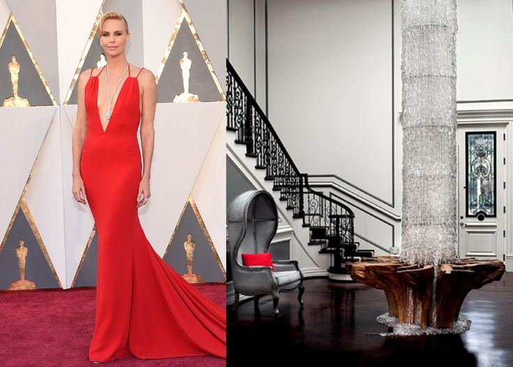 If Charlize Theron's Oscar Gown Were a Room