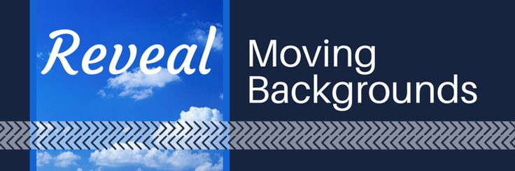 How To Reveal A Moving Background Animation Effect In PowerPoint