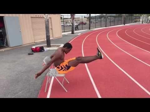 Long Jump/Triple Jump - Landing Drill Progression - YouTube