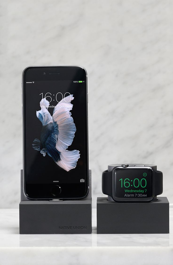 DOCK Collection including our DOCK Lightning for iPhone or iPad and our DOCK for Apple Watch