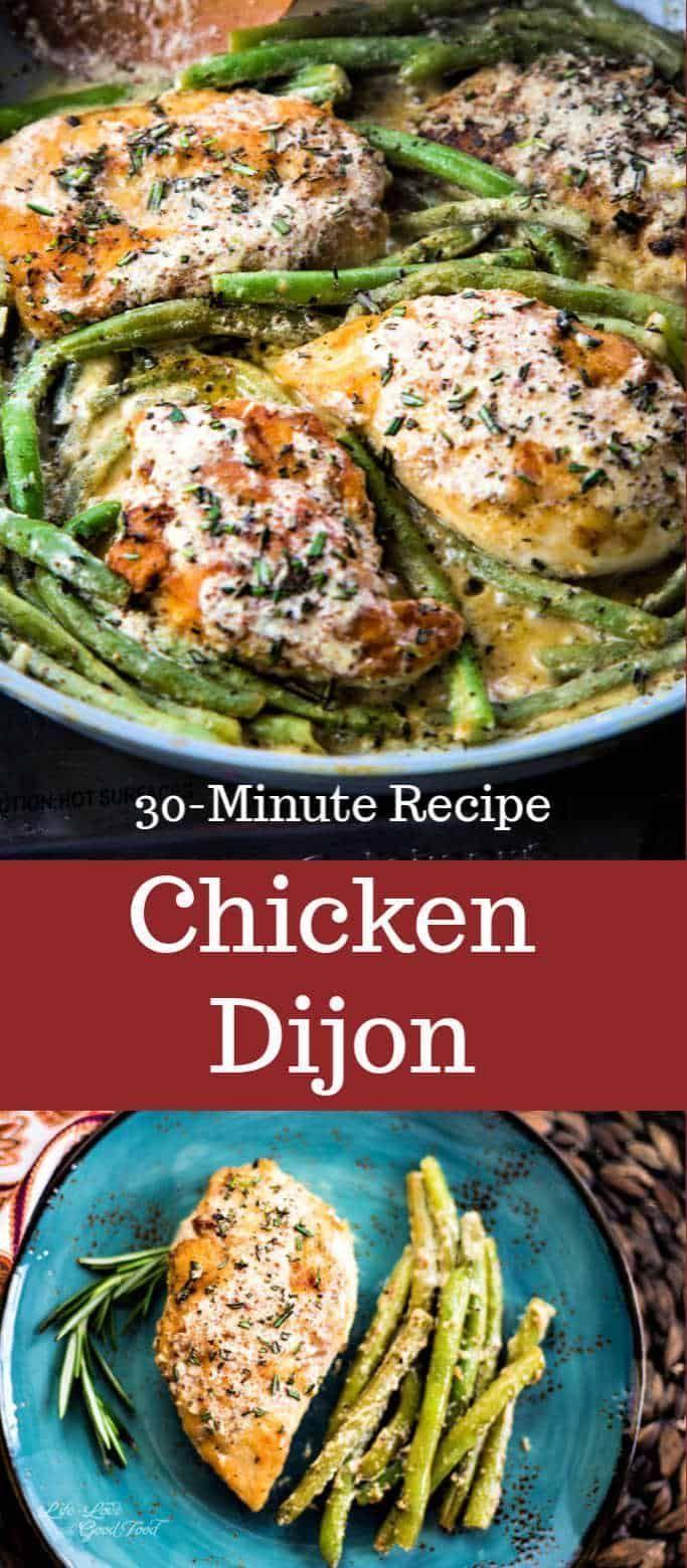 Chicken Dijon In 2020 Gourmet Chicken Dijon Chicken Easy Chicken Recipes