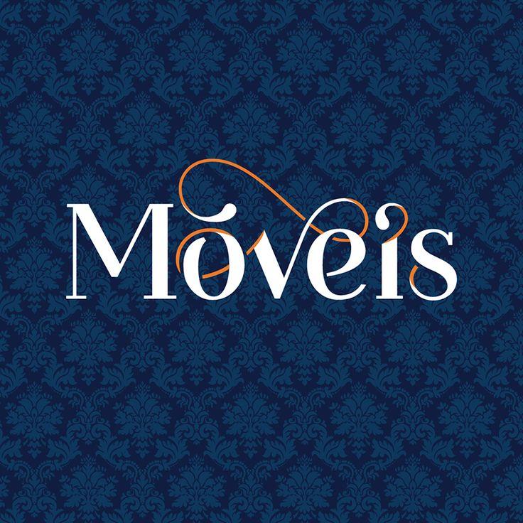 Logo for the third album of the Brazilian band Móveis Coloniais de Acaju, De Lá Até Aqui. Design by Barbara Miranda, 2013.