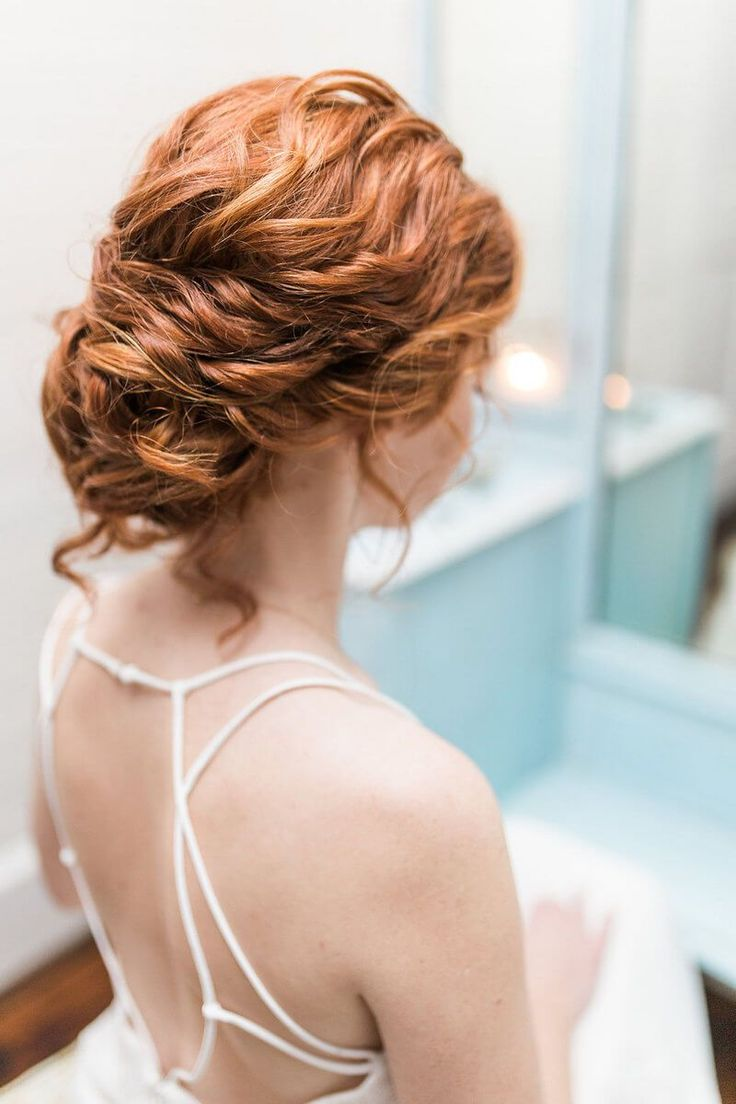 Soft Romantic Bridal Inspiration - red hair bride