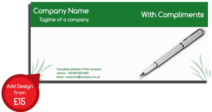 Get in Touch with us Compliment Slips for Your Business. Call: 020 800 46 800 #complimentslips #design