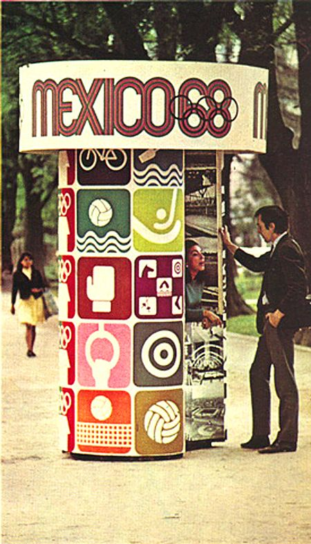 Mexico 1968 Olympic Event Signage