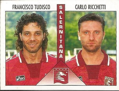 Francesco Tudisco; Carlo Ricchetti. Salernitana, serie B 1995-96