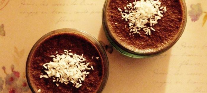 Budino di semi di chia e cacao | Recipe | Chia pudding, Cocoa and ...