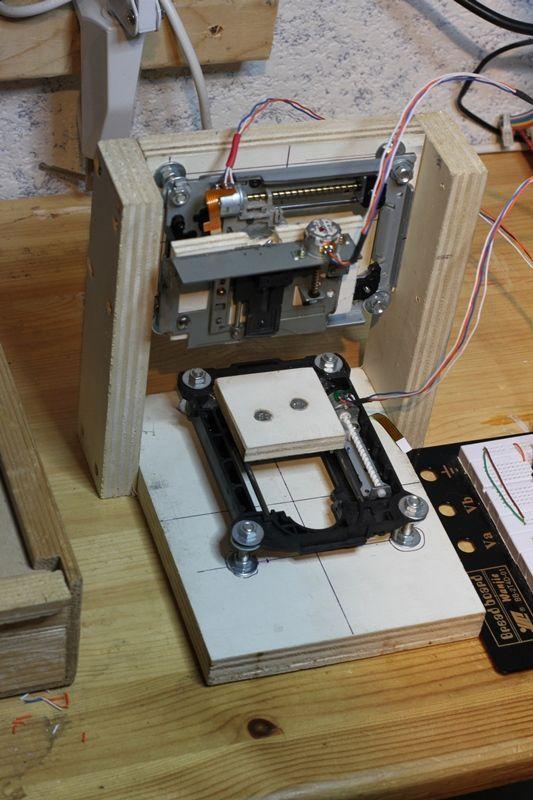 Mini CNC   Roy's Junkyard