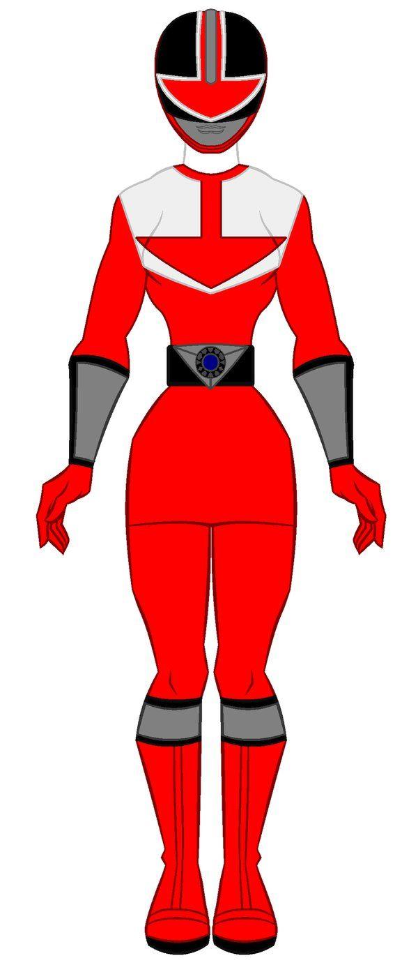 9. Power Rangers Time Force - Red Ranger Girl by PowerRangersWorld999