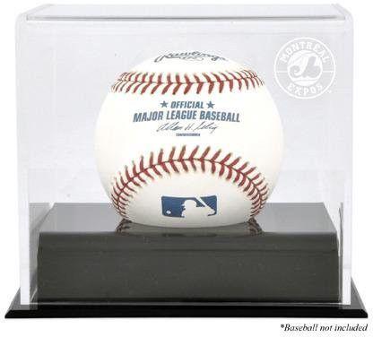 Montreal Expos Baseball Cube Logo Display Case