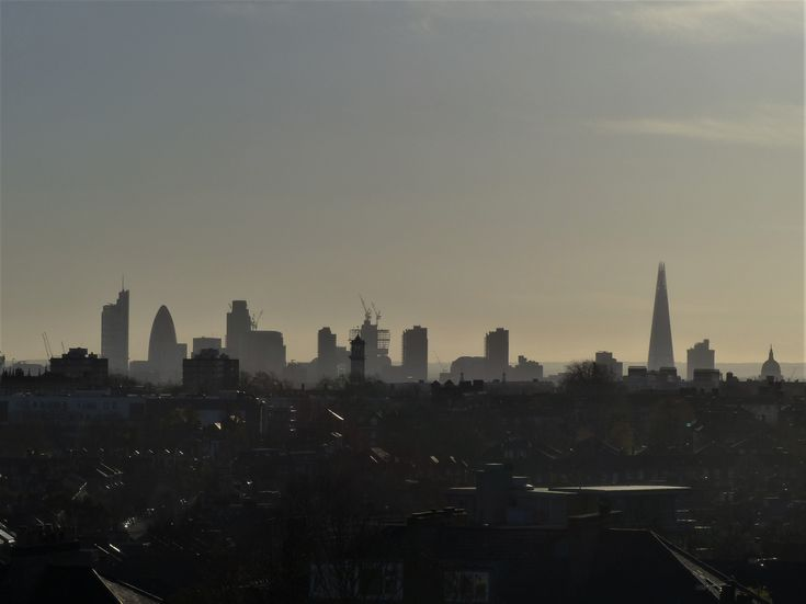 London from D-S park (as the Locals would have it) 2012.