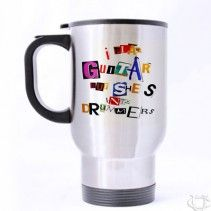 5 Seconds Of Summer Art Lyrics Travel Mug