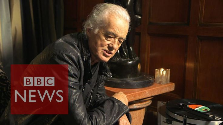 Jimmy Page: How Stairway to Heaven was written - BBC News Happy 73rd birthday!