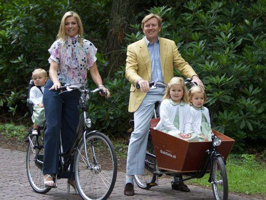 Prince Willem-Alexander & family