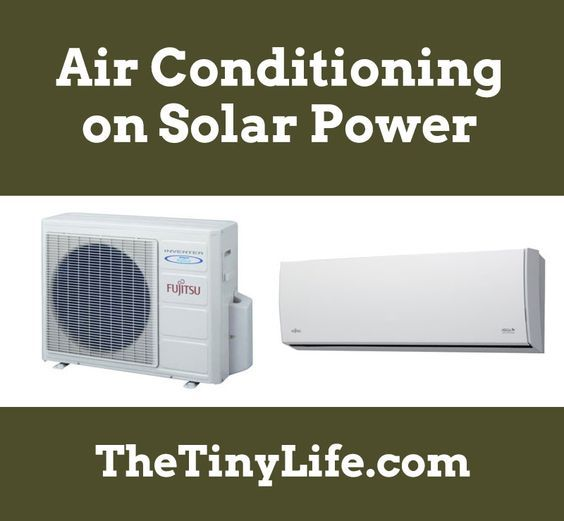http://www.2uidea.com/category/Portable-Air-conditioner/ Can you really run an air conditioner on solar power? Sure you can!