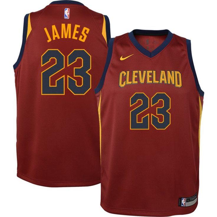 Nike Boys\u0027 Cleveland Cavaliers LeBron James #23 Dri-FIT Swingman Jersey,  Size: 7, Team