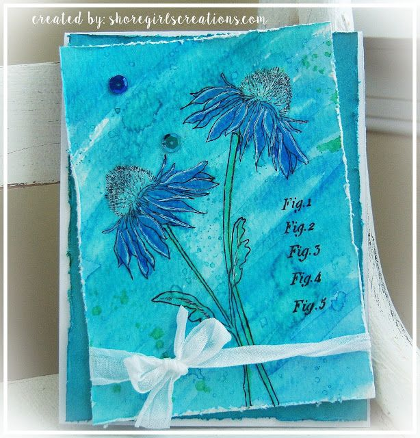 163 Best Images About 391 6 Ink It Up On Pinterest: 163 Best Images About Tim Holtz Flower Garden On Pinterest