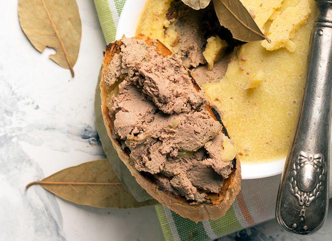 Лучшие кулинарные рецепты: Паштет из печени: рецепт запеченного паштета с коньяком