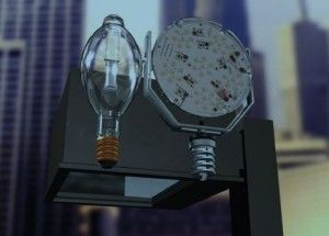 InsertLED® lamps are state of the art Philips Diodes they can replace old fashioned High Pressure Sodium lamps plug and play saving more than half of the energy spent on street lighting