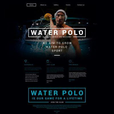 Polo Responsive Website Template