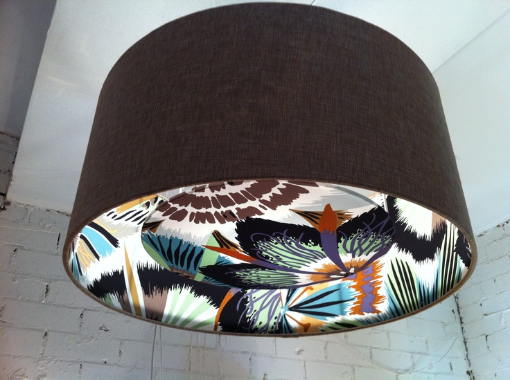 Shady Designs, Missoni Ceiling Shade and Diffuser.