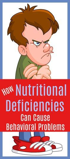 Nutritional deficiency can cause bad behavior in kids. #nutrition #kids