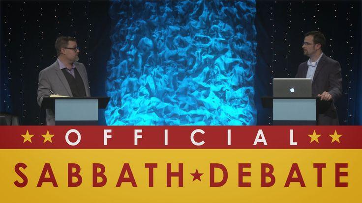 DID YOU SEE THIS??  Official Sabbath Debate - Jim Staley vs. Chris Rosebrough - Passion for ...