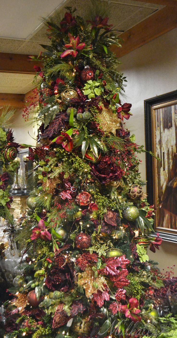 275 best burgundy christmas images on pinterest elegant