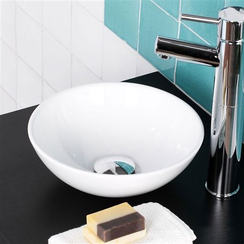 Adorable Nanci Small Counter Top Bowl For A Cloakroom. Combine With A Tall  Mixer Tap