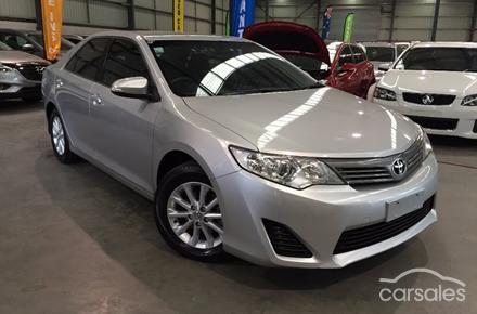 2012 Toyota Camry Altise Auto