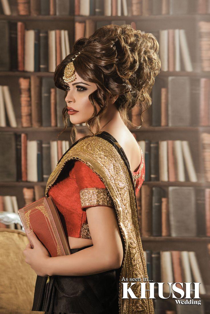 Get that intricate hair design with Shamalah Hairstylist  T: +44 (0)7535 865 914 E: ShamalahAsif@hotmail.co.uk   • TRAINING COURSES NOW AVAILABLE •  Makeup: Summaya Mua Outfit: Seema Silk Sarees  Tikka: NK Collection