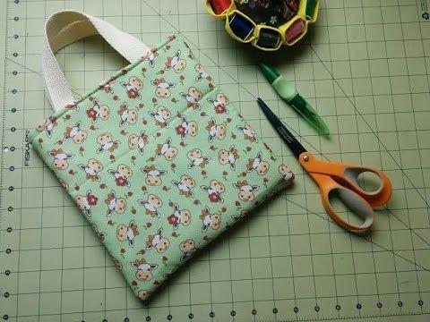 Descomplica! Aprenda a costurar uma bolsa dupla face ou ecobag de tecido passo a passo - YouTube