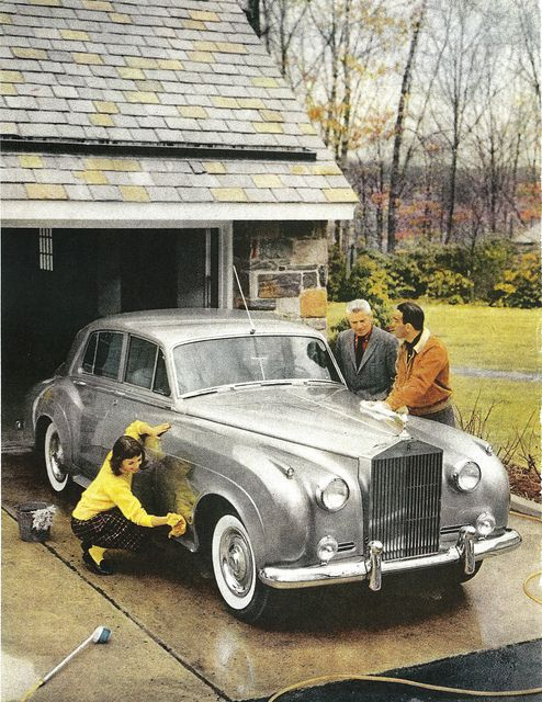1958 Rolls Royce Silver Cloud I ......Spit Spot ....Everyone give a shine Now !!!!!
