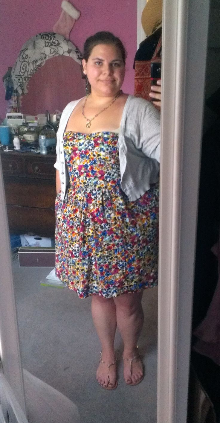 Здравствуйте, я Кэтлин.  размер США 24ish.  Платье: размер 20, UK Style по French Connection (от Sears) свитер: Размер XXL, от Old Navy обувь: размер 10, от ДСО outrageous-unoriginal.tumblr.com