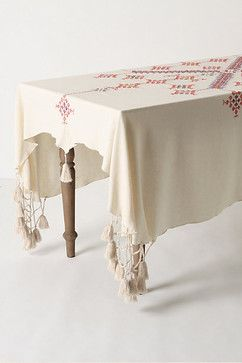 Eclectic Table Linens