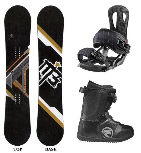 M3 Filter Men's Complete Snowboard Package With Head NX