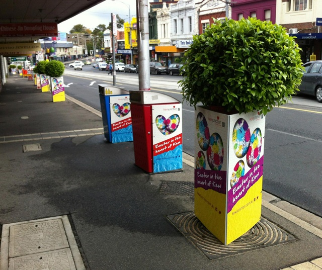 Kew Junction Easter Bin & Tree Wraps1
