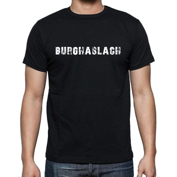 burghaslach, Men's Short Sleeve Rounded Neck T-shirt