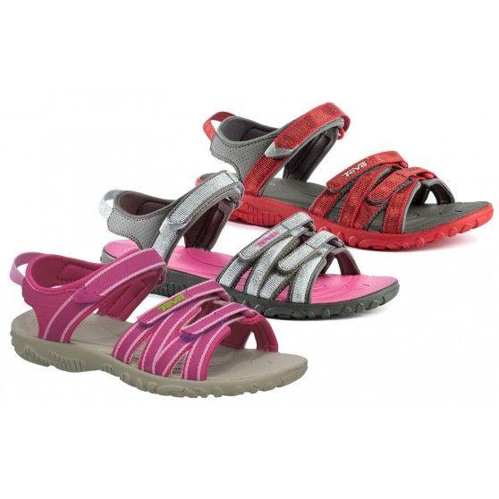 De @Teva  #Tirra junior #sandalen zijn zeer comfortabele #kindersandalen. In de hiel is een ShocPad verwerkt om een hele fijne demping te geven. #dws