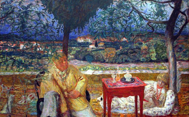 Pierre Bonnard - In the Garden