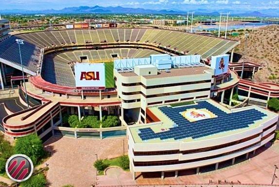 Sun Devil Stadium and original home of the Phoenix Cardinals
