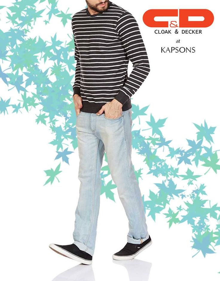 Stripes it is!!! AW16 staple, shop for this look and many more at Kapsons stores and online at Kapsons.com #Kapsons #AW16 #ShopForWinters