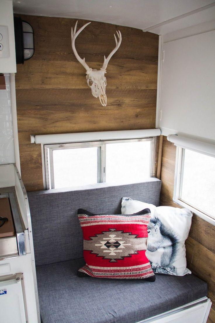 Retro camper curtains - 200 Camper Interior Remodel Diy Travel Trailers
