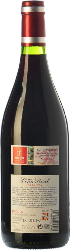 Viña Real Crianza 2011 - Comprar vino Tinto Crianza - Rioja - Viña Real