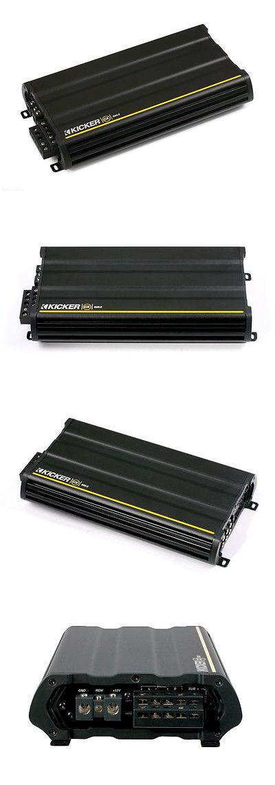 Car Amplifiers: Kicker Car Audio Cx600.5 Cx-Series 5-Channel Amplifier 600-Watt Class-D Amp New -> BUY IT NOW ONLY: $199.95 on eBay!