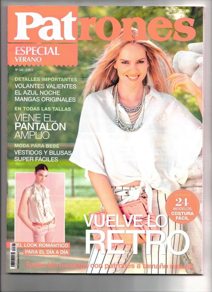 revista Burda vs. revista Patrones