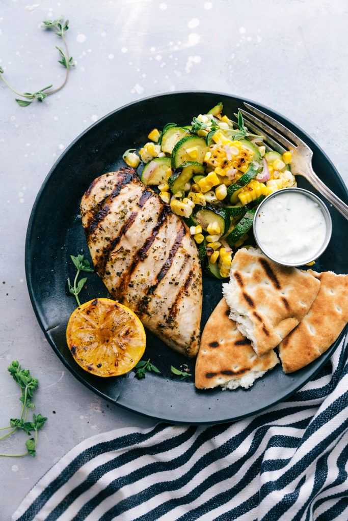 Greek Chicken Chelsea S Messy Apron Side Dishes Easy Grilled Zucchini Greek Chicken